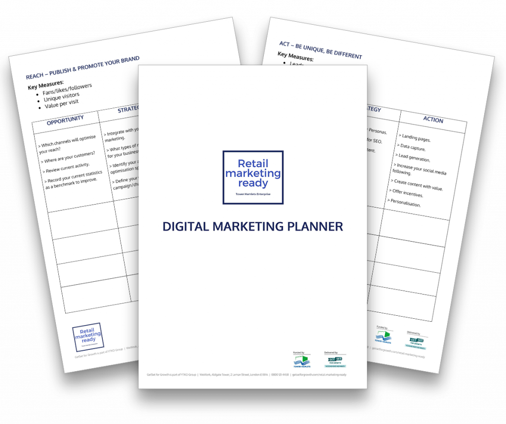 Digital Marketing plan image