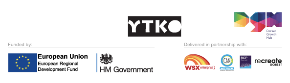 Funded by ERDF and HM Government and delivered by YTKO