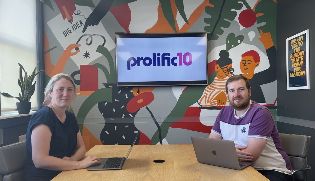 Prolific 10 chris and Charlotte