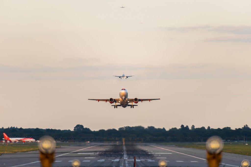 Aircraft at airport